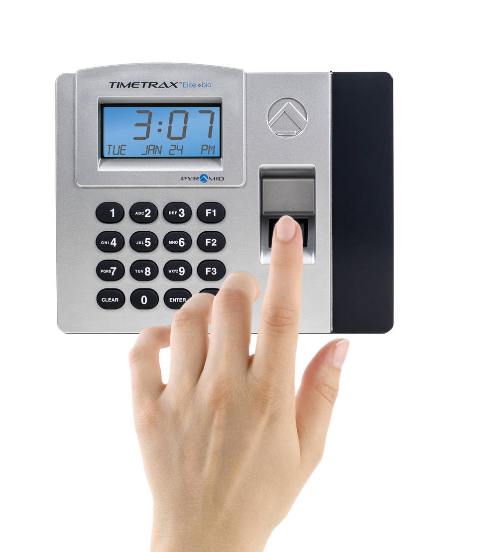 Pyramid TimeTrax TTELITEEK Biometric Time Clock System Ethernet by ...