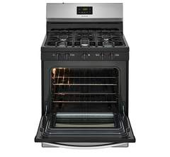 Frigidaire Gas Freestanding Range: FFGF3052TS, Door open, Empty