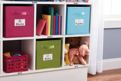 Quickly organize the play room