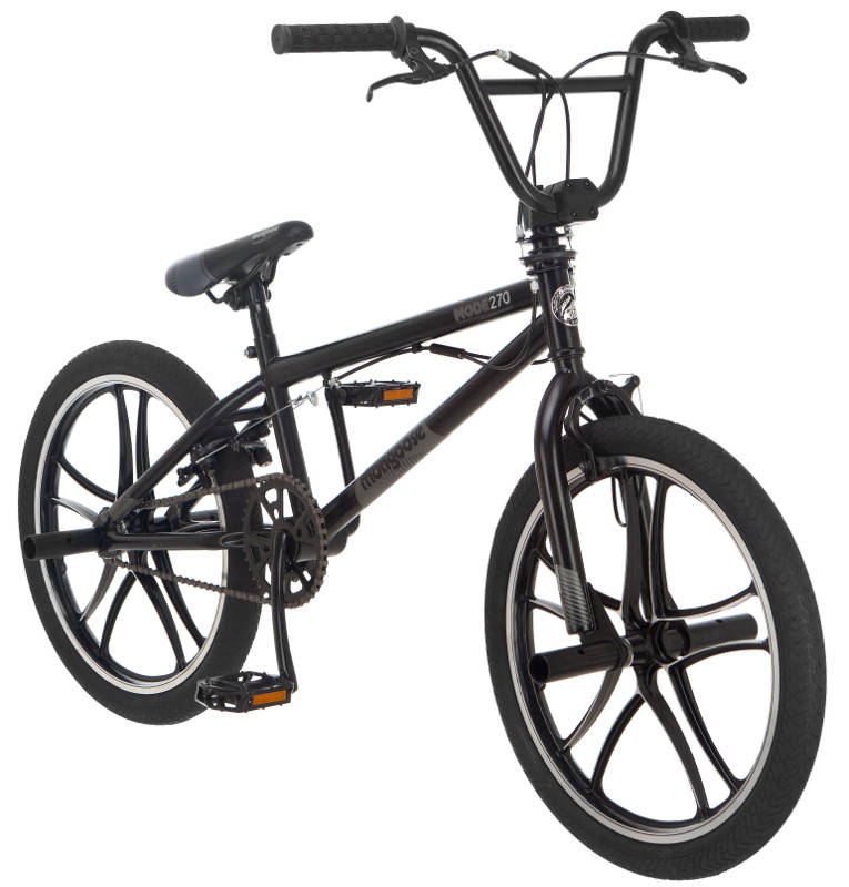 "20"" Mongoose Mode 540 Boys' Freestyle Bike, Gray - Walmart.com