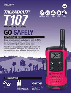 View Talkabout T107 Data Sheet PDF