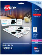 Avery Clean Edge Business Cards Microperforated Postcards Tent Greeting Note