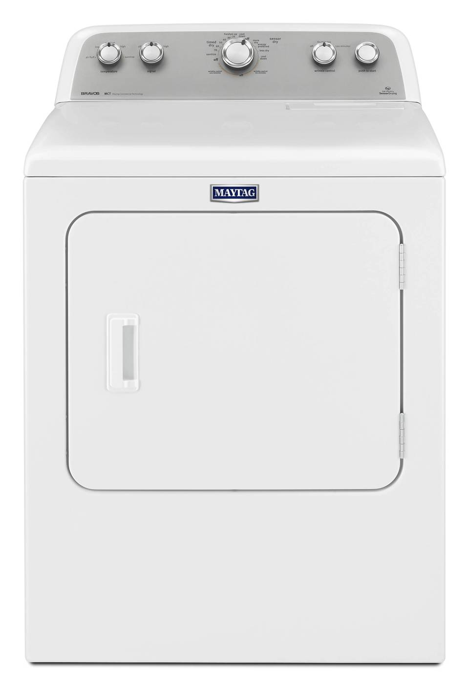 maytag 7cu ft electric dryer white