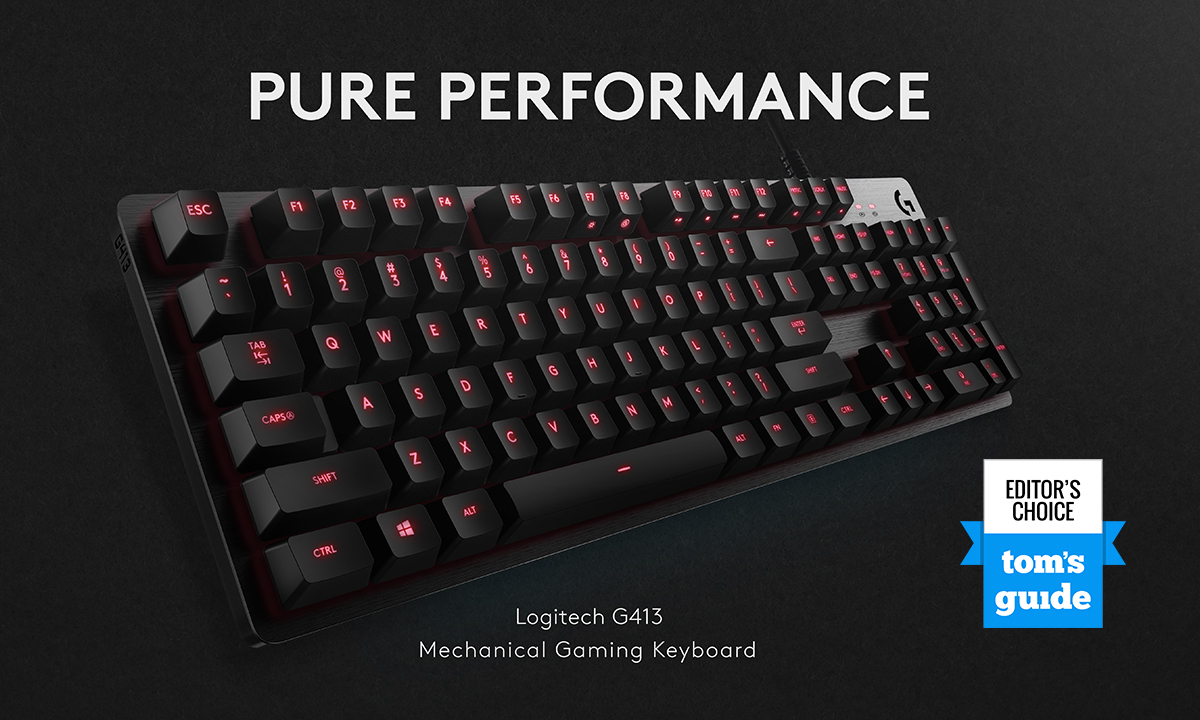 Logitech G413 Backlit Mechanical Gaming Keyboard - Walmart com
