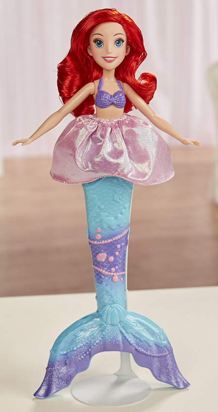 efb8e757cfe4d Kids can imagine magical moments from Disney's The Little Mermaid! This  Splash Surprise Ariel doll is ready to transform from mermaid to girl.