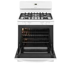 Frigidaire Gas Freestanding Range: FFGF3051TW, Door open, Empty