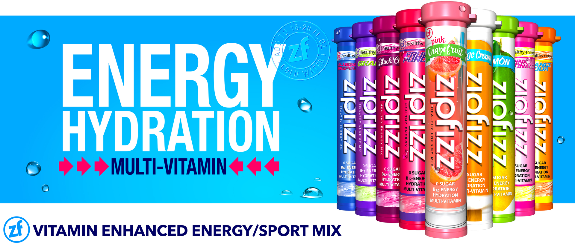 Zipfizz® Healthy Energy Drink Mix