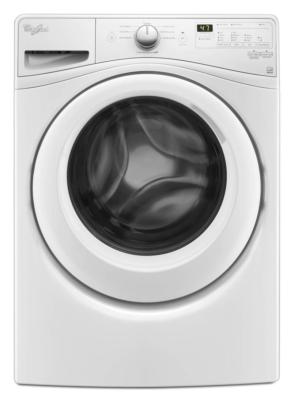 The best top load washer on the market - Whirlpool Front Loading 4 5 Cubic Foot Washer