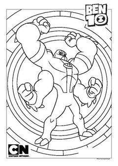 coloring pages action figures - ben 10 super deluxe figures heatblast toys character george