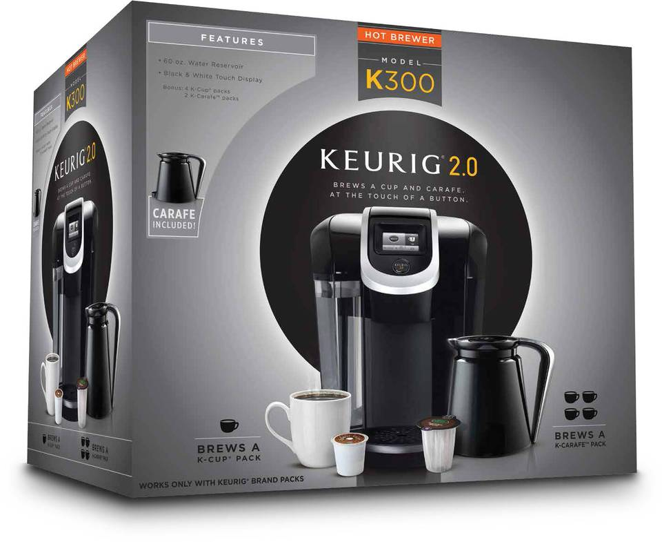 Keurig K300 20 Coffee Brewer Black By Office Depot OfficeMax