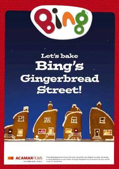 View Bing's Christmas Gingerbread Street PDF