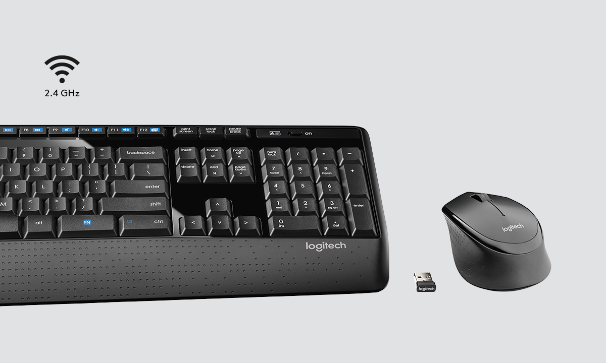 Logitech Wireless Combo MK345 - Keyboard and mouse set