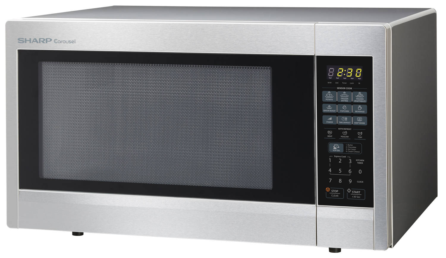 2 Cu Ft 1200 Countertop Microwave