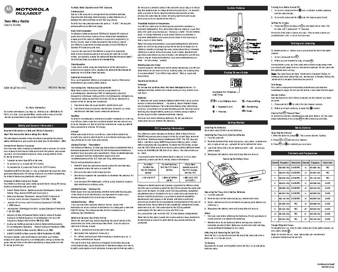 motorola talkabout p14spa03p2aa manual pdf selection test mending rh economyalike stream motorola talkabout t5622 user manual motorola talkabout user's guide
