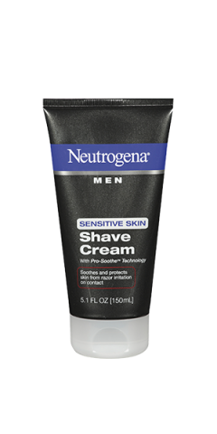 Neutrogena Men S Shaving Cream For Sensitive Skin 5 1 Fl Oz