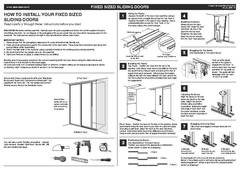View How to install sliding wardrobe doors PDF PDF
