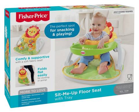ebfbcef52b4 What s in the Box  Features • Upright portable baby seat helps baby sit up