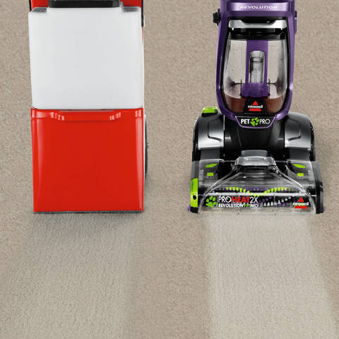 bissell proheat 2x revolution pet pro deep cleaner outcleans the leading rental