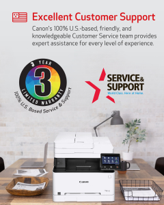 MF644Cdw 3 Year Warranty and Customer Service