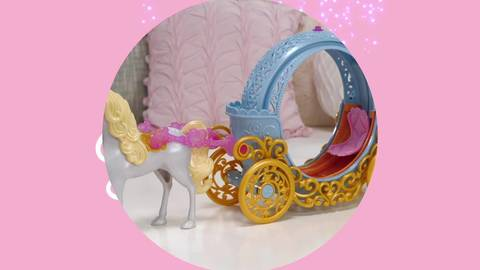 Disney Princess Cinderella's Magical Transforming Carriage - Demo
