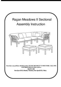 Popular Ragan Meadow Sectional Sofa