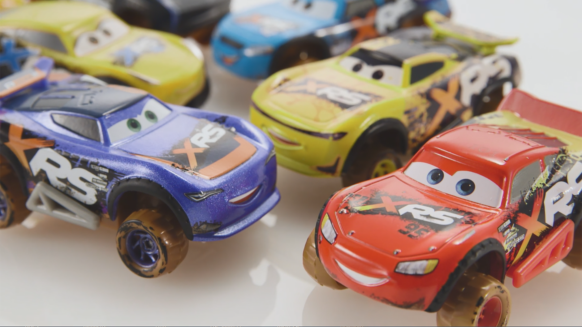 Disney Pixar Cars Xrs Mud Racing Lighting Mcqueen Die Cast Vehicle