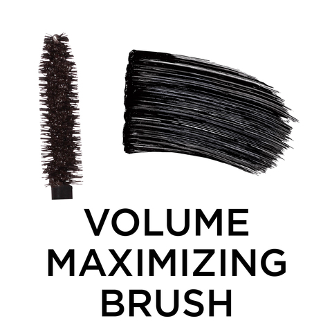 5cdc1189301 L'Oreal Paris Voluminous Mascara Curved Brush 340 Black .28 Fl Oz : Target