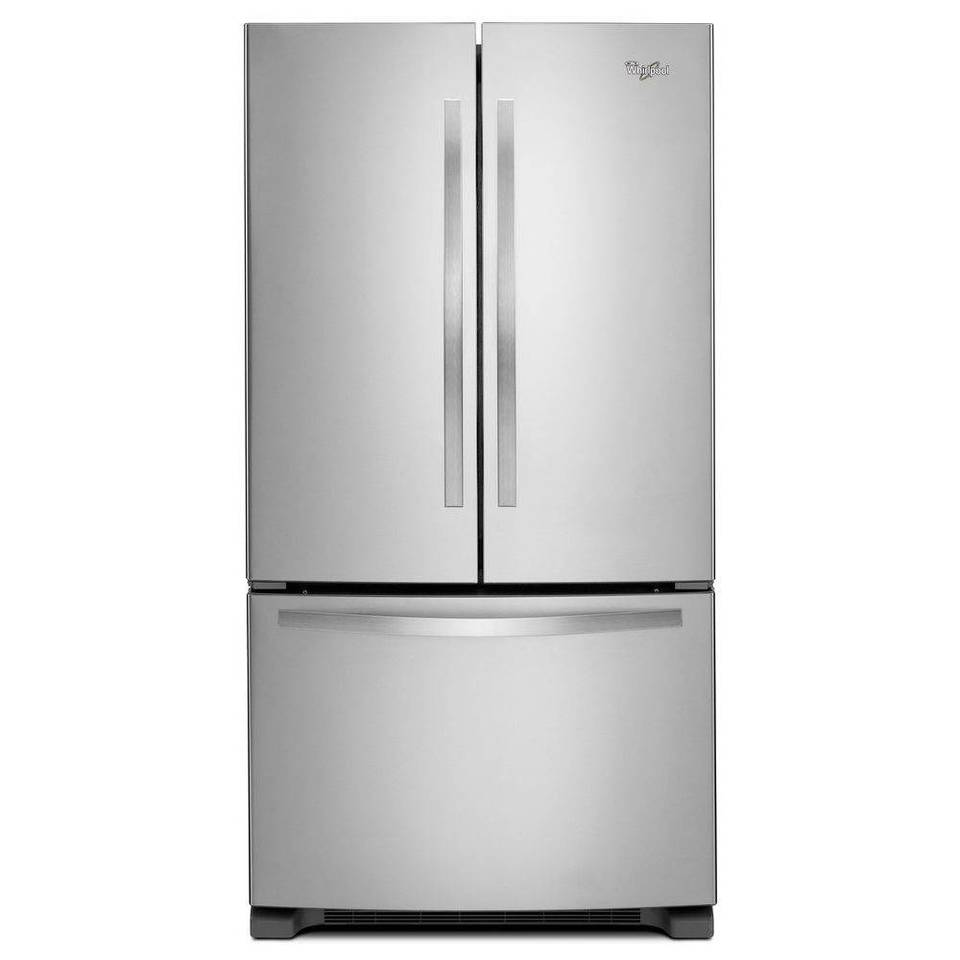 Whirlpool white ice single wall oven -  Wrf535smbm Whirlpool 36 Stainless Steel 25 Cu Ft French Door Refrigerator