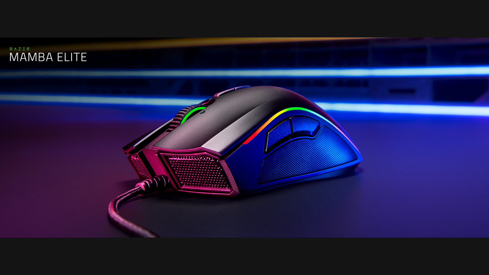 fdce4dbcec9 RAZER MAMBA ELITE: 5G True 16,000 DPI Optical Sensor - 9 Programmable  Buttons - Ergonomic Form Factory - Razer Chroma Enabled - Esports Gaming  Mouse ...