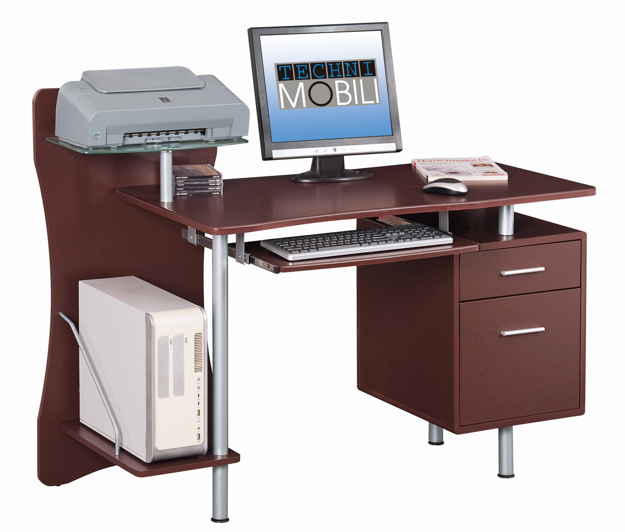 drawers mobili collections workstation with rta desk computer lifestyle tagged complete storage techni gry
