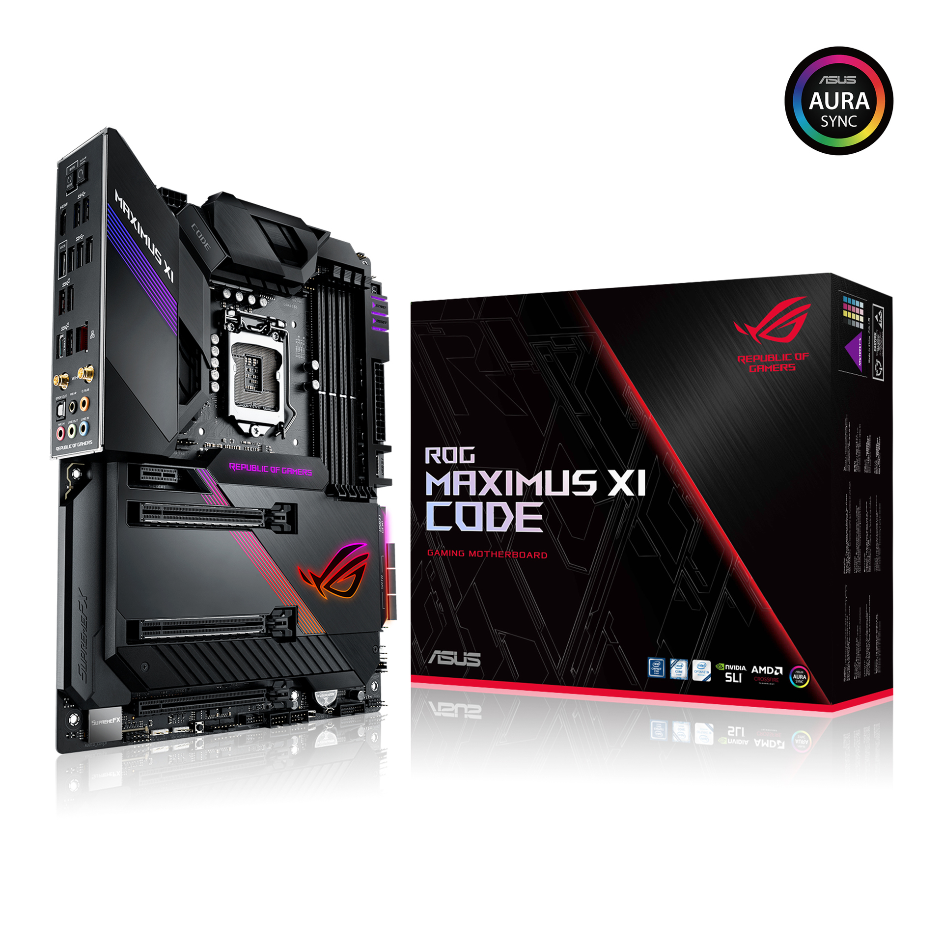4801450f9a ASUS ROG Maximus XI Code Z390 Gaming Motherboard LGA1151 (Intel 8th ...