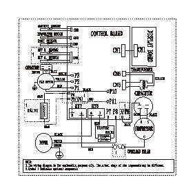 Wiring Diagram For Frigidaire Air Conditioner on nordyne wiring diagram