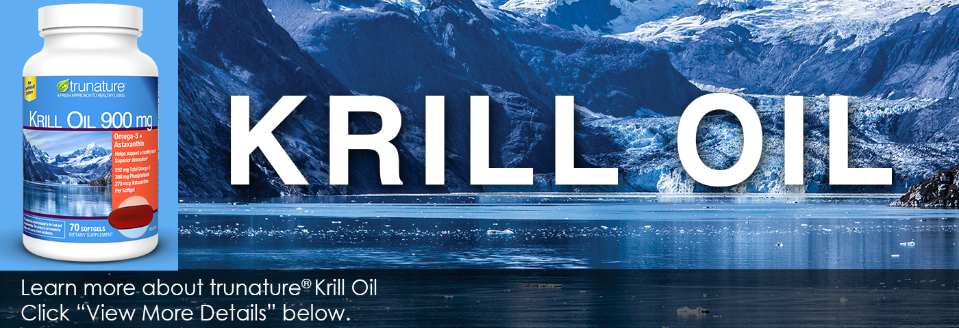 Krill Oil. Learn more about trunature Krill Oil.