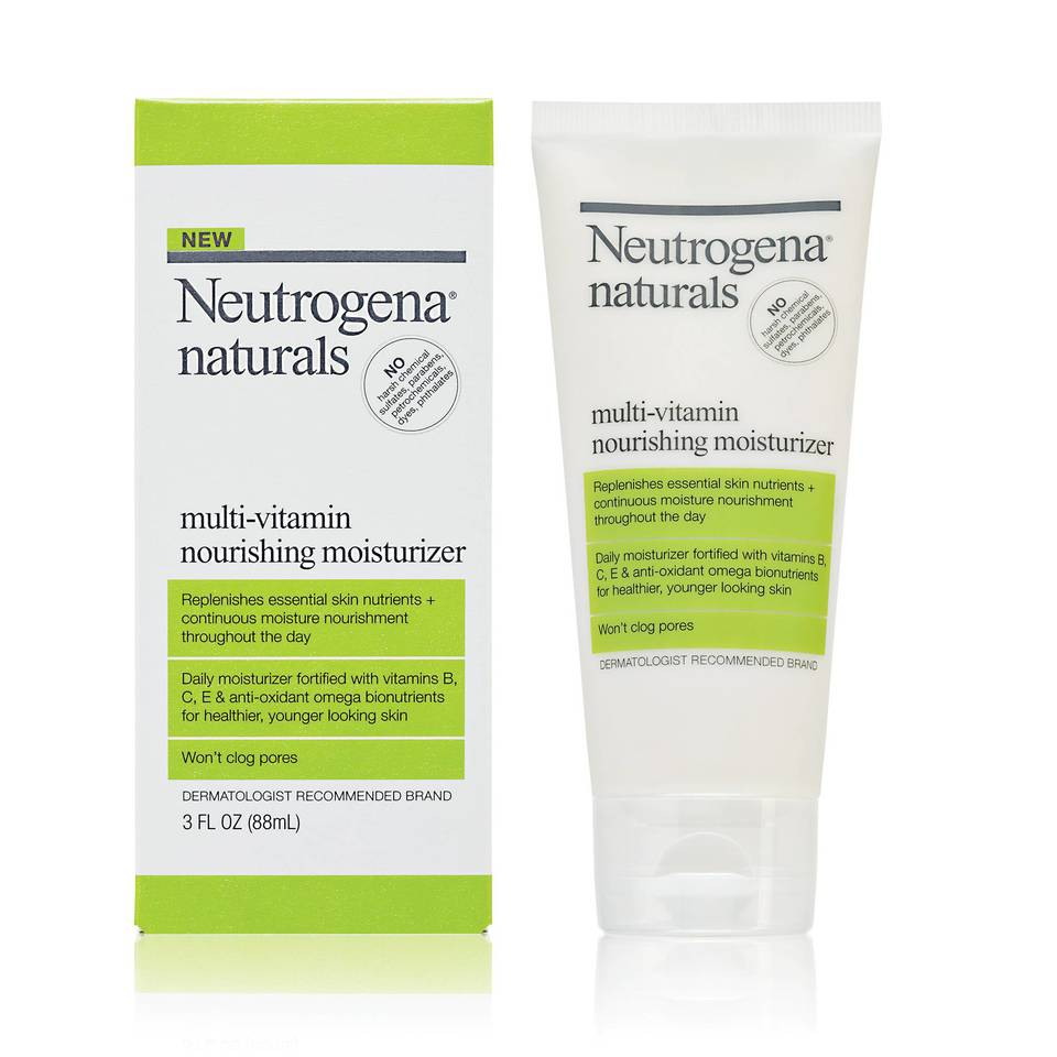 Neutrogena Naturals Multi Vitamin Nourishing Moisturizer 3 Oz Acne Perfecting Gel At A Glance