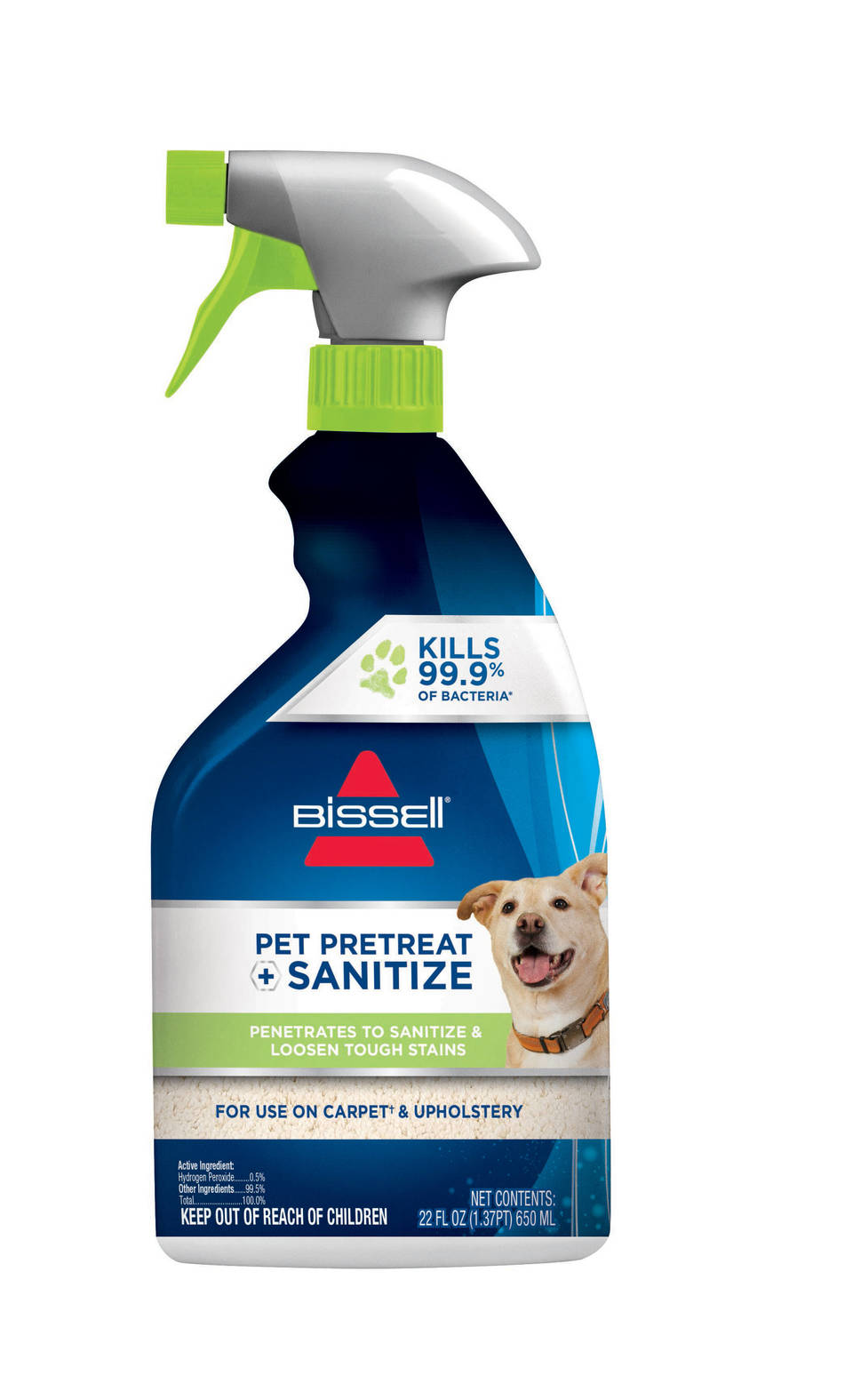 bissell pet pretreat sanitize stain u0026 odor remover - Bissell Pet Carpet Cleaner