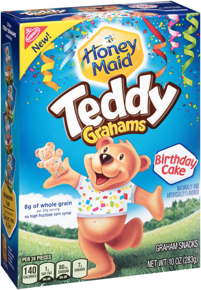 Birthday Cake Teddy Gram