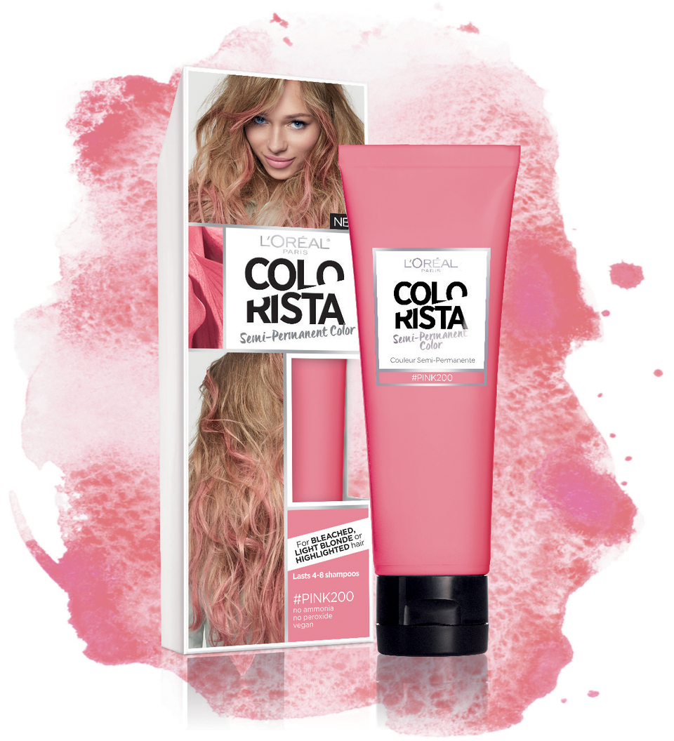 Loreal Paris Colorista Semi Permanent For Brunette Hair Walmart