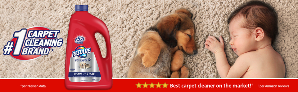 Resolve Pet Steam 2x Concentrated Large Area Carpet