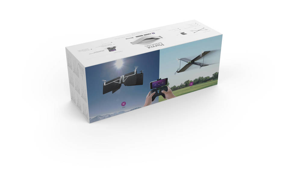 Parrot Swing Drone With Bluetooth Controller