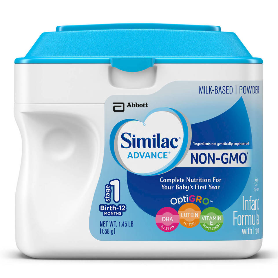 similac advance infant formula with iron powder 12 4 oz