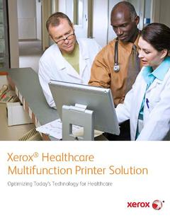 View Xerox Healthcare MFP PDF