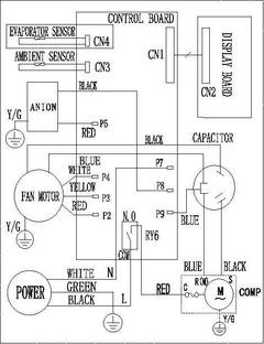 Wiring Diagram For Ge Air Conditioner