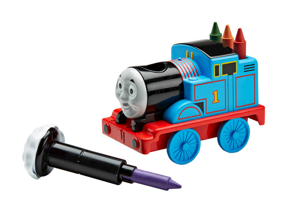 My First Thomas & Friends Thomas Bath Crayons | DGL05 | Fisher-Price