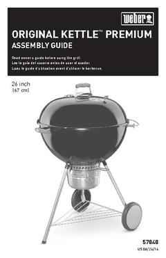 Weber 26-in Black Kettle Charcoal Grill at Lowes com