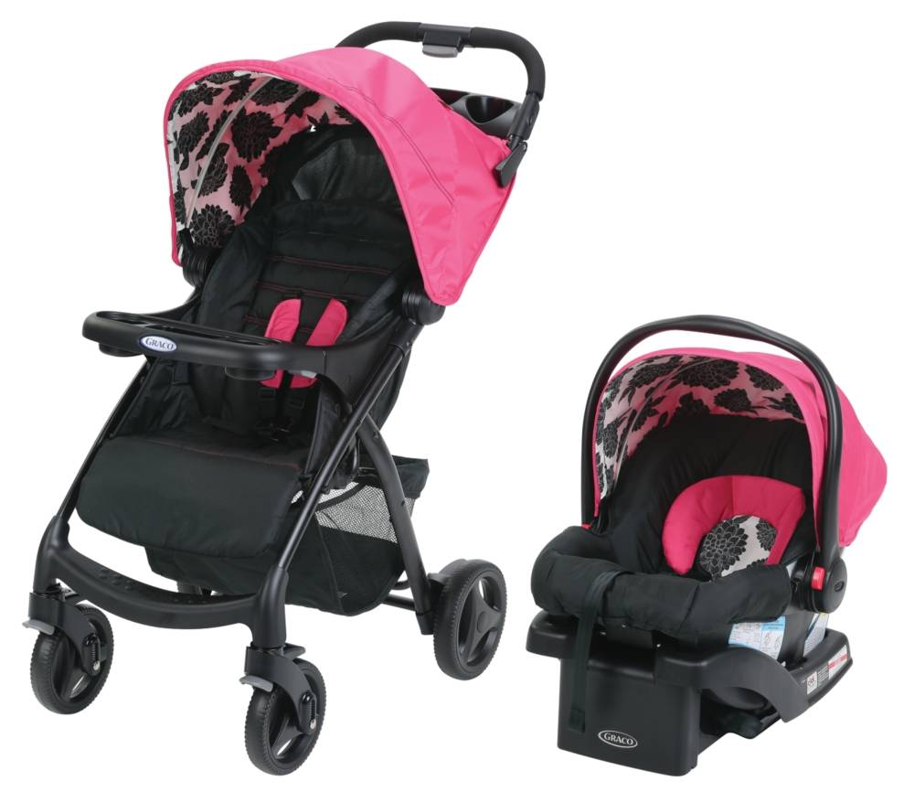 Graco Verb Click Connect Travel System In Azalea