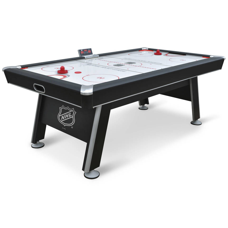 Merveilleux NHL 80 Inch Air Powered Hover Hockey Table With Bonus Table Tennis Top    Walmart.com