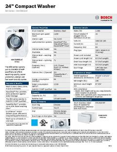 View WAT28402UC - Spec Sheet PDF