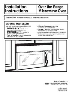 Installation Instructions - opens PDF
