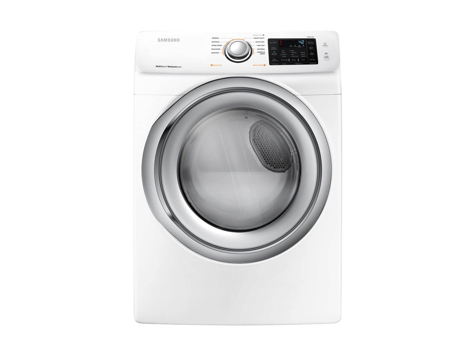 Samsung 7 5-cu ft Stackable Electric Dryer (White) at Lowes com