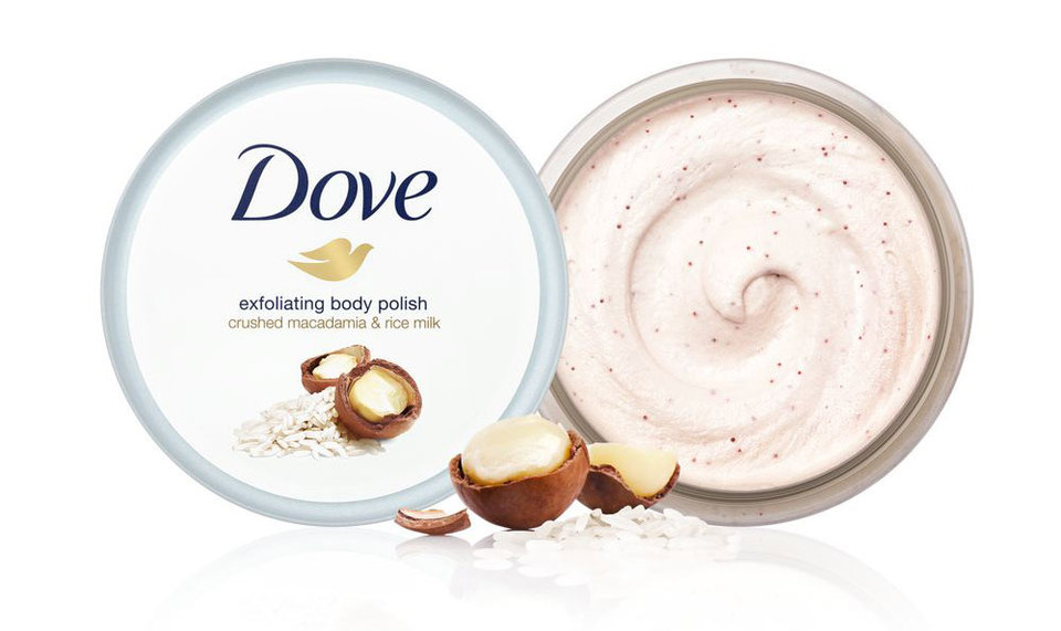 Dove Body Polish Macadamia Rice Milk 10 Oz Harmon Face Values